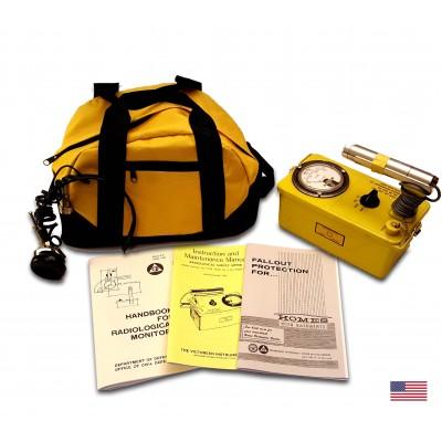 Restored & Calibrated EMP Proof / Resistant Victoreen CDV-700 model 6B Radiation Detector Kit