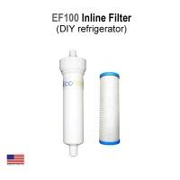 EcoFast™ EF100 InLine AquaMetix Water Filter (DIY refrigerator)