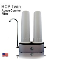 HCP Twin Above Counter Water Filter