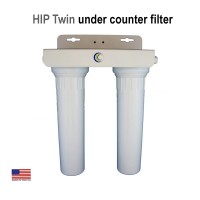 HIP Twin Below Counter Water Filter