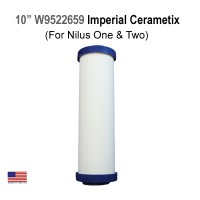 CeraMetix™ 10in. Imperial Nilus One & Two Filter Element