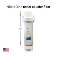 "NILUSONE™ 10"" Below Counter Water Filter"
